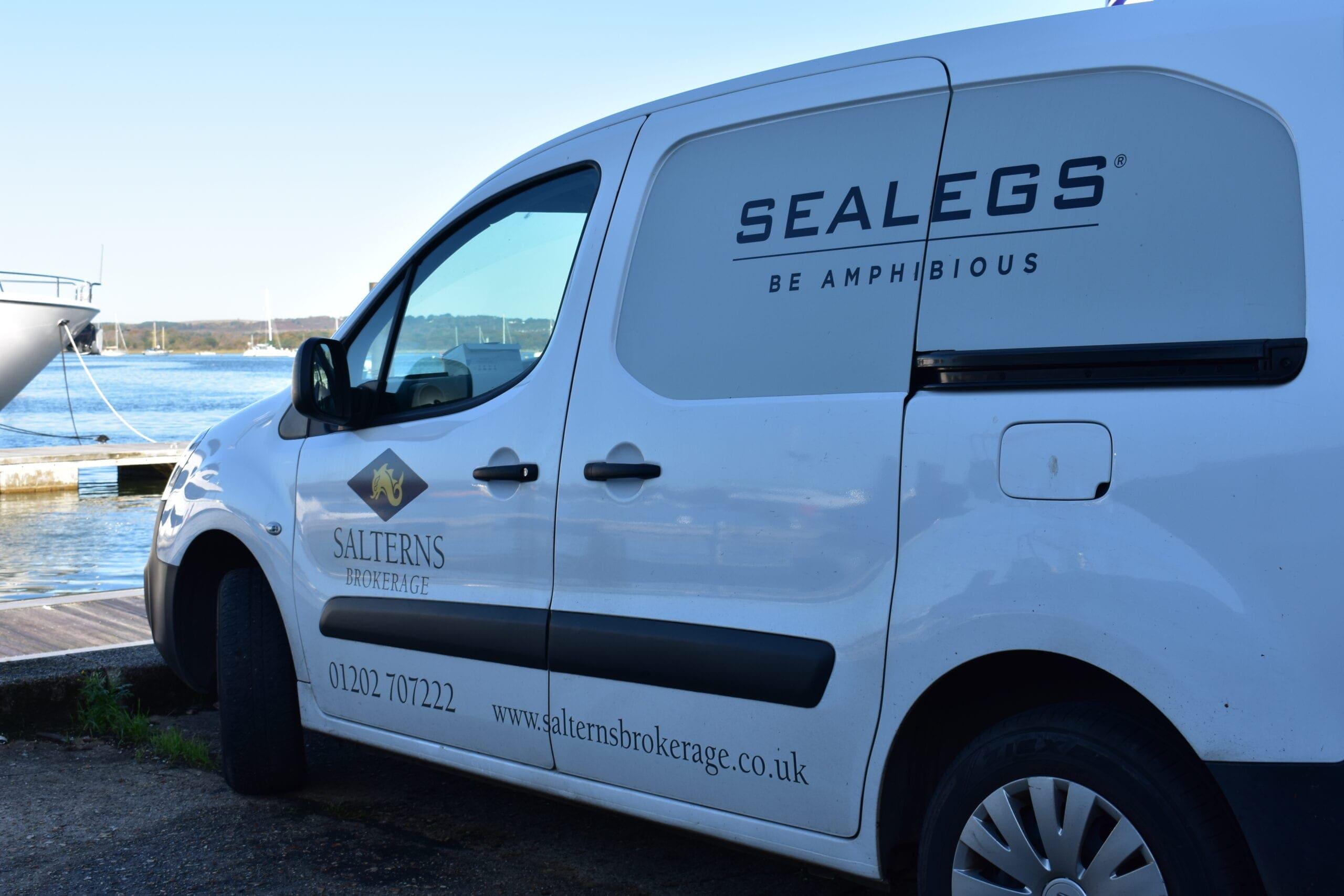 sealegs servicing. marine engineers
