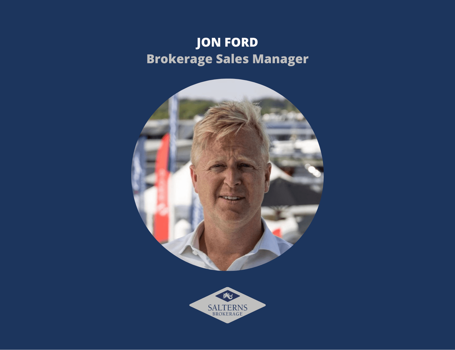 We've recently welcomed Jon Ford to Salterns Brokerage