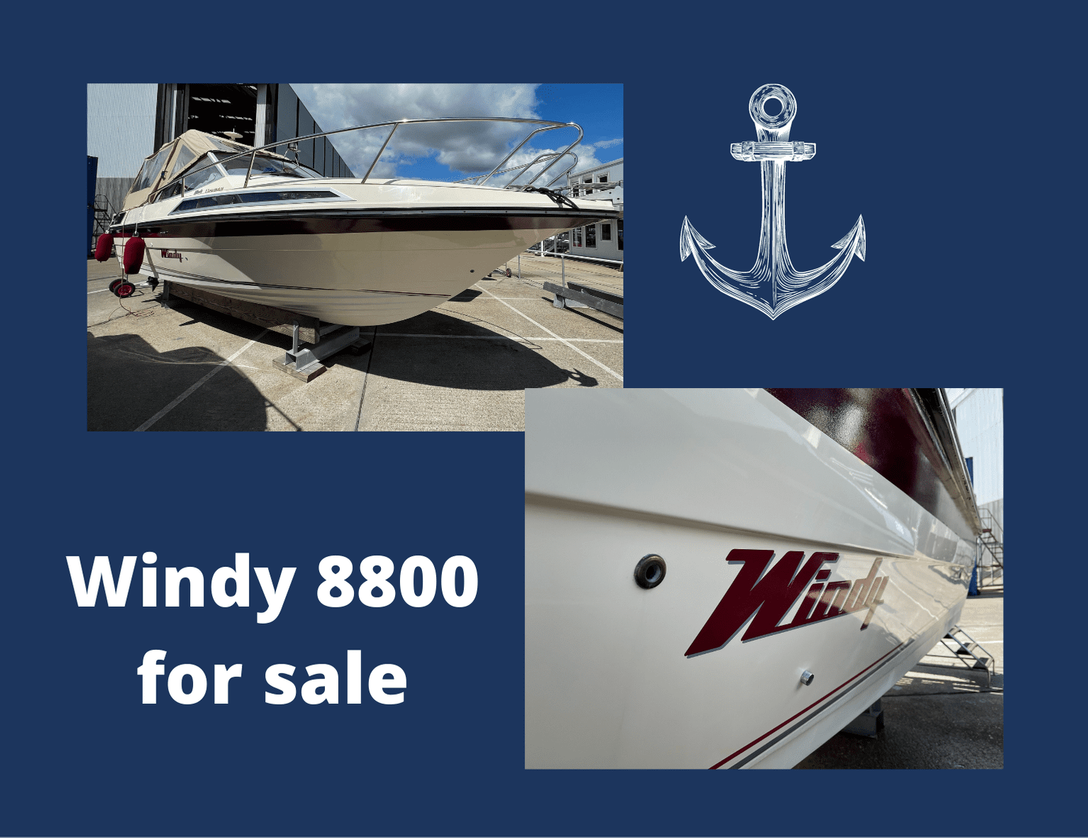 Windy 8800 for sale