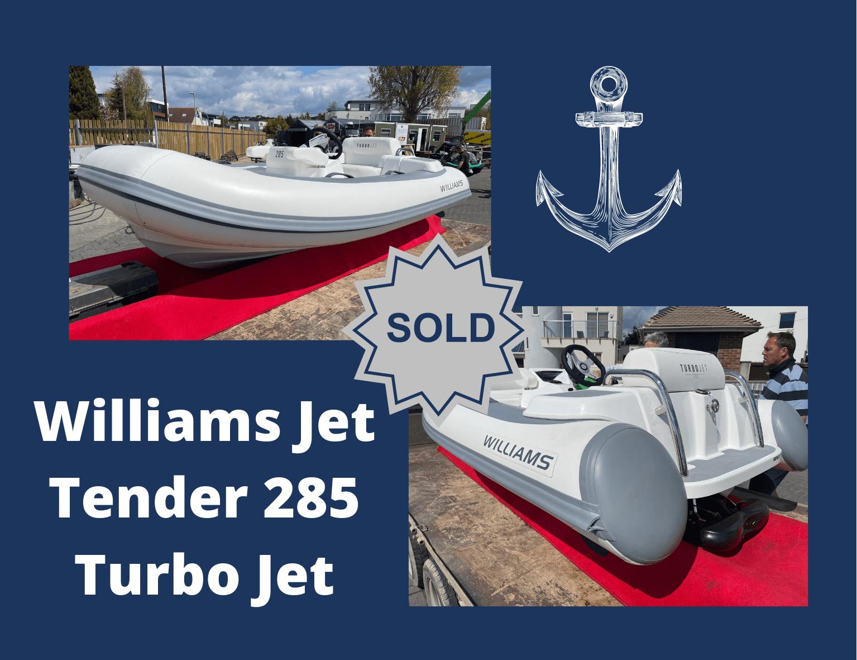 Williams Jet Tender 285 Turbo Jet