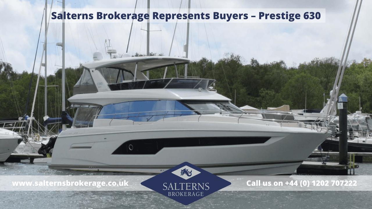 Prestige 630 Motor Yacht sale